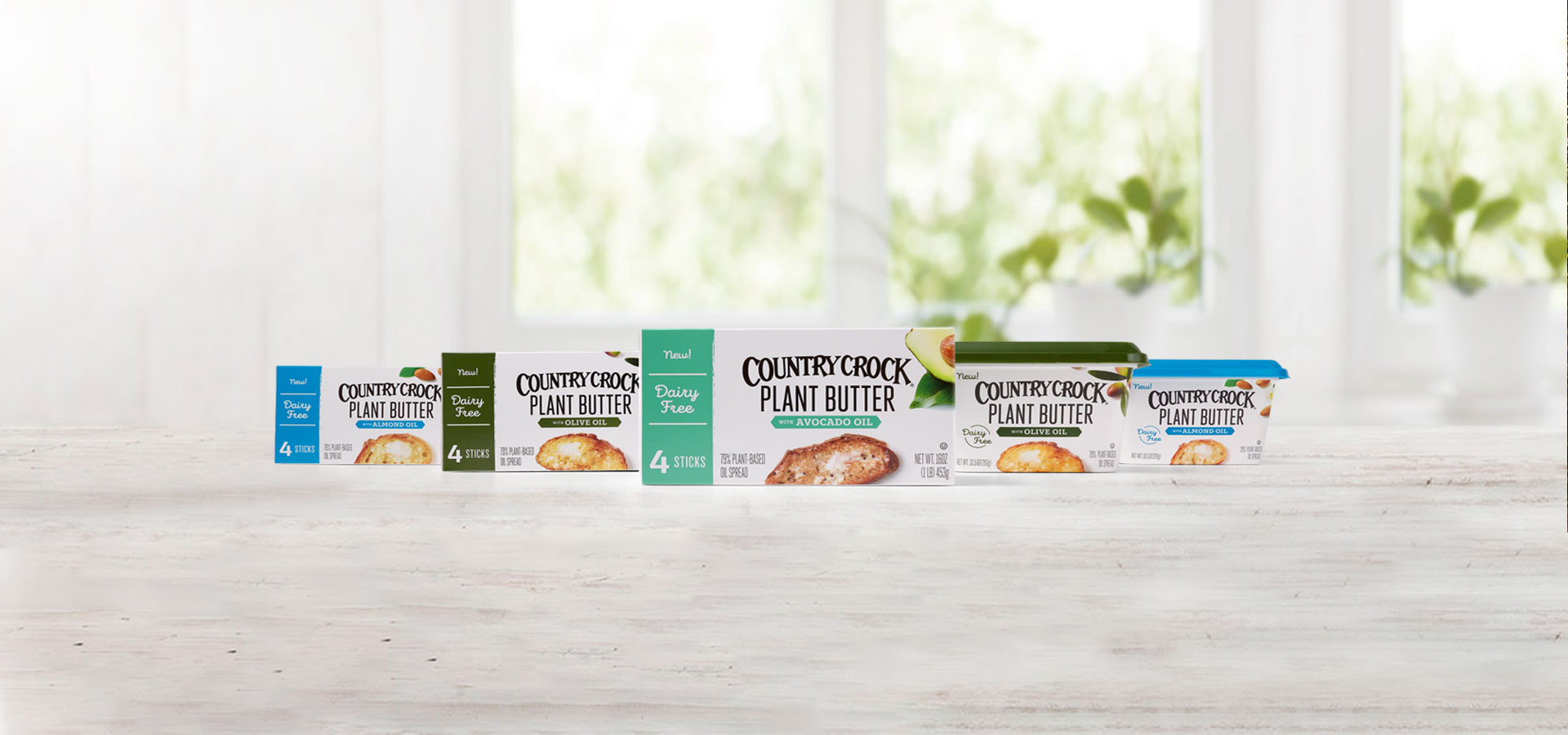 Plant-based butters Country Crock