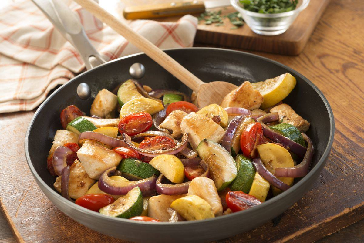 recipe image Easy Chicken Skillet One Dish Dinner