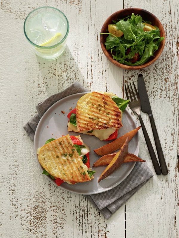 recipe image Roasted Red Pepper Panini