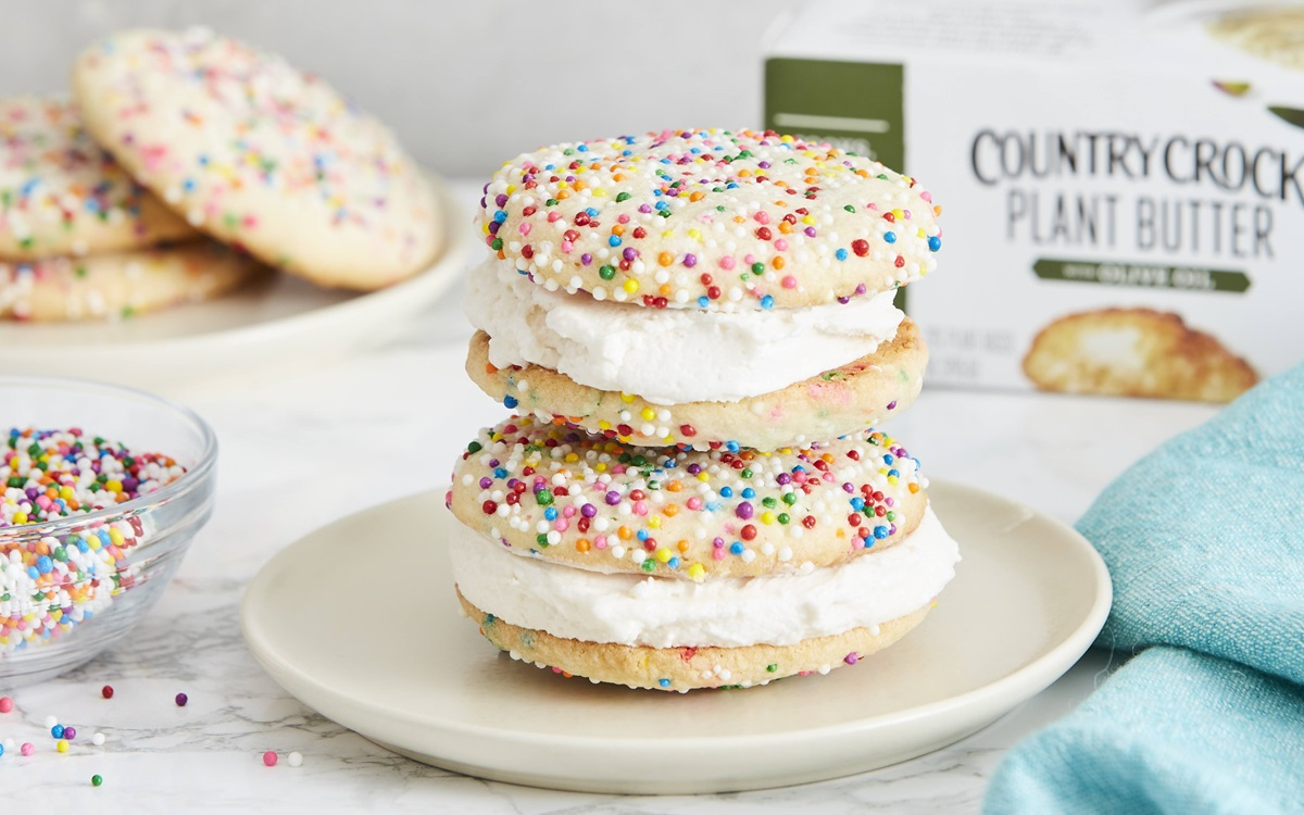recipe image Plant Based Sugar Cookies (Funfetti)