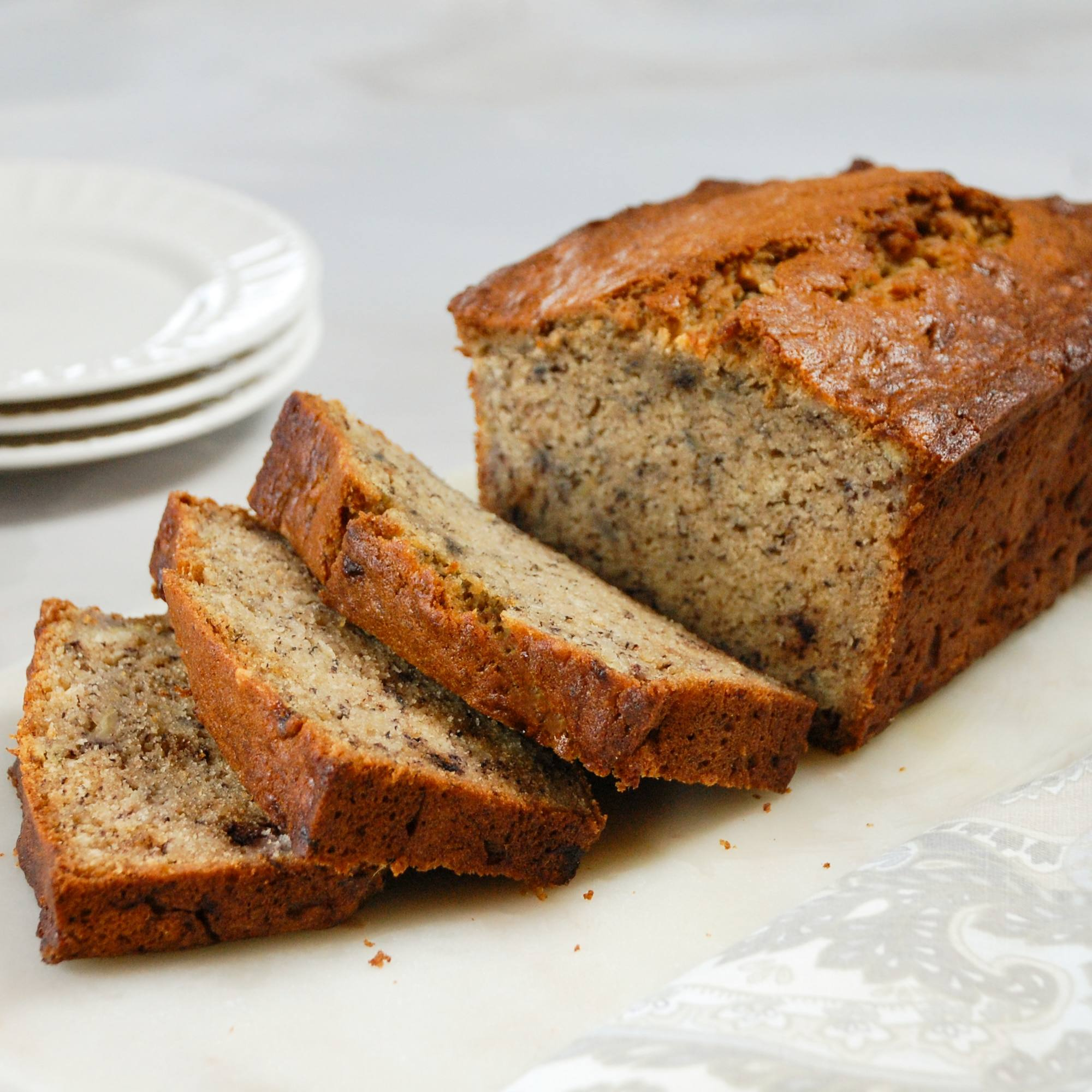 recipe image Banana Bread With Country Crock Plant Butter With Almond Oil
