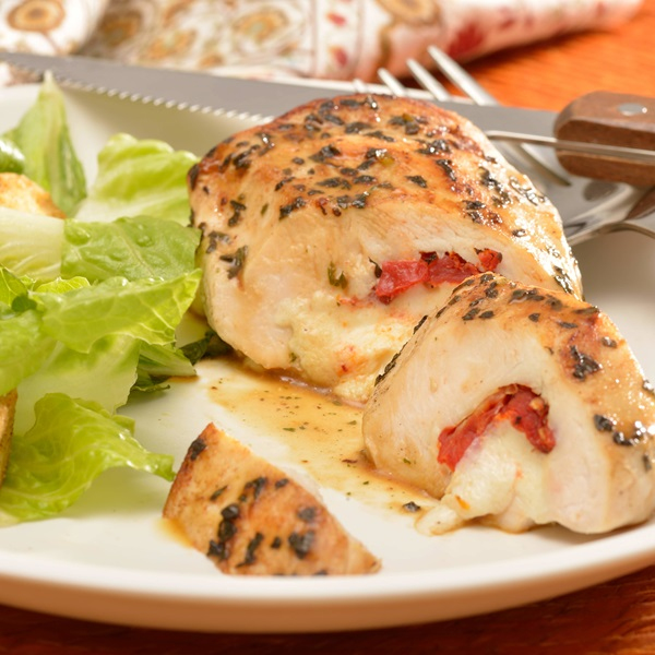 recipe image Stuffed Chicken Caprese