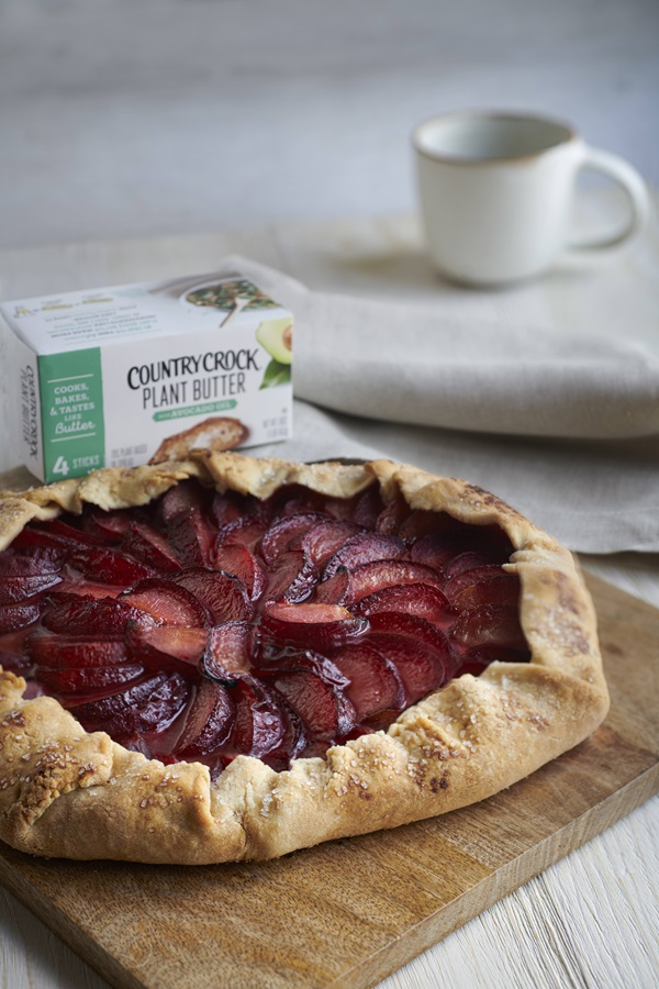 recipe image Plum Crostata