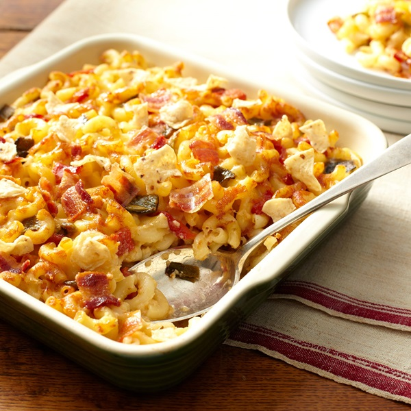 recipe image Southwestern Mac and Cheese