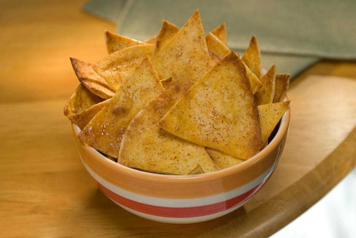 recipe image Sweet & Spicy Snack Chips