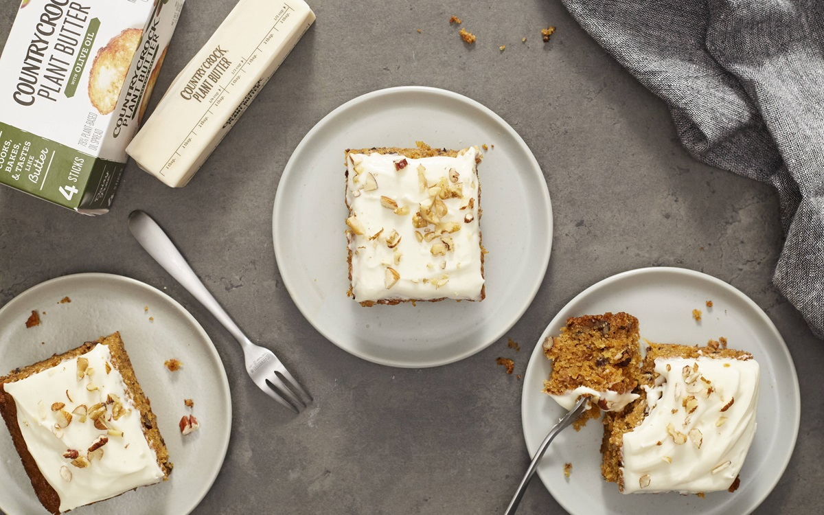 recipe image Carrot Cake with Dairy Free Cream Cheese Icing