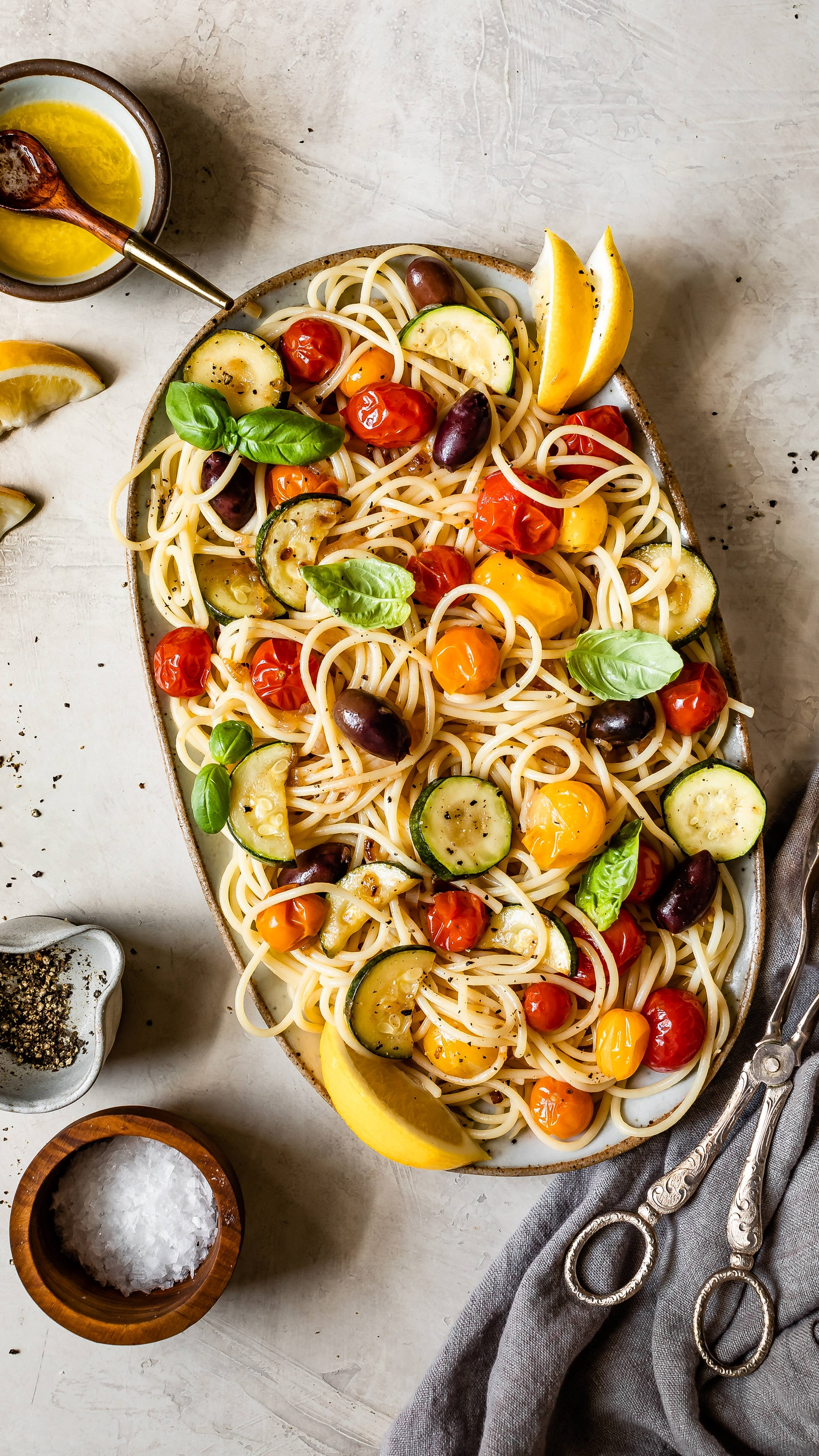 recipe image Lemon Veggie Pasta