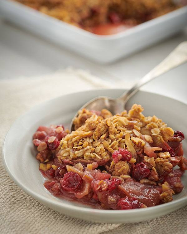 recipe image Apple Cranberry Crisp