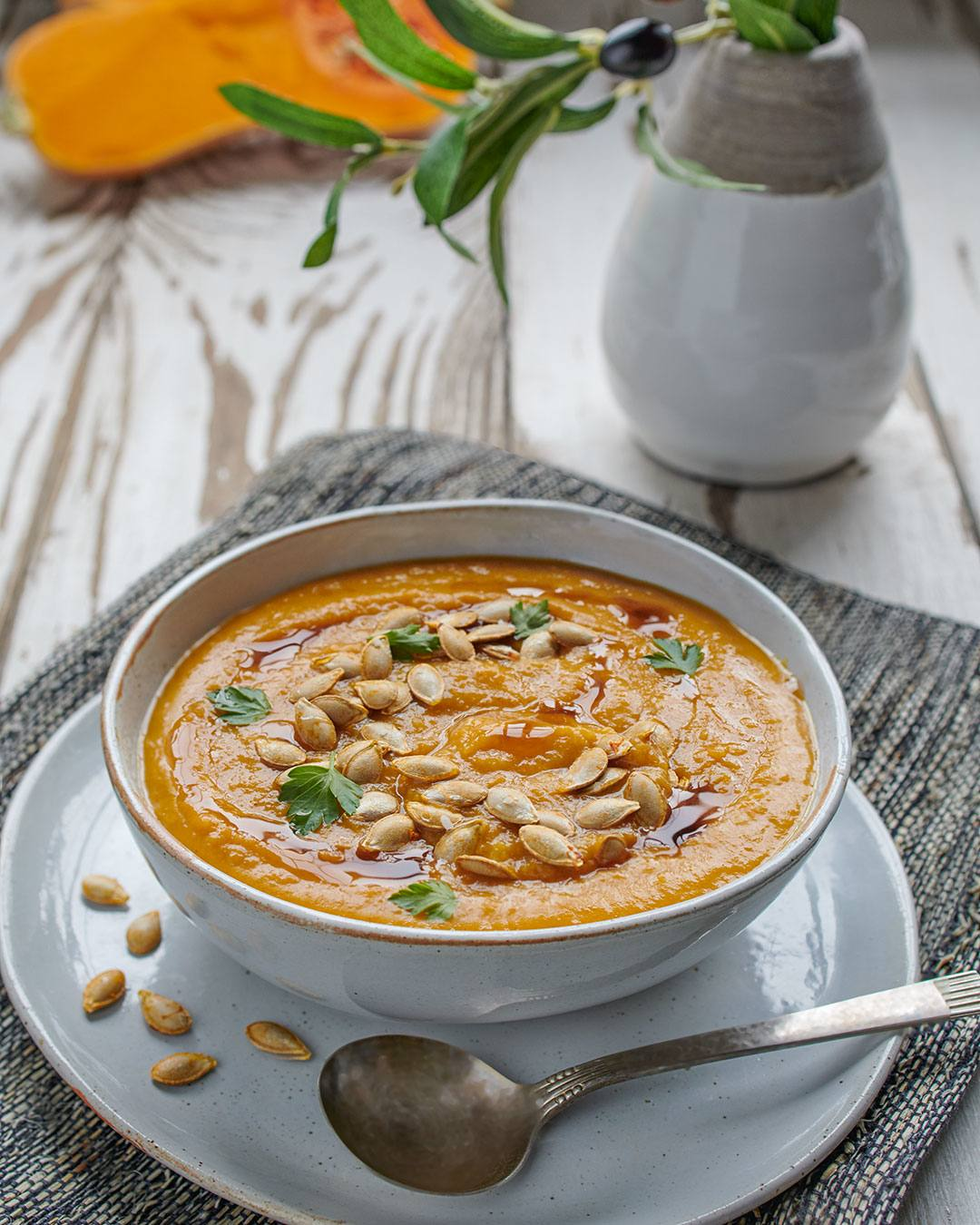 recipe image Butternut Squash and Apple Soup
