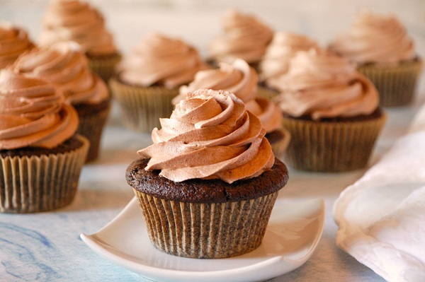 recipe image Vegan Mexican-Style Chocolate Cupcakes