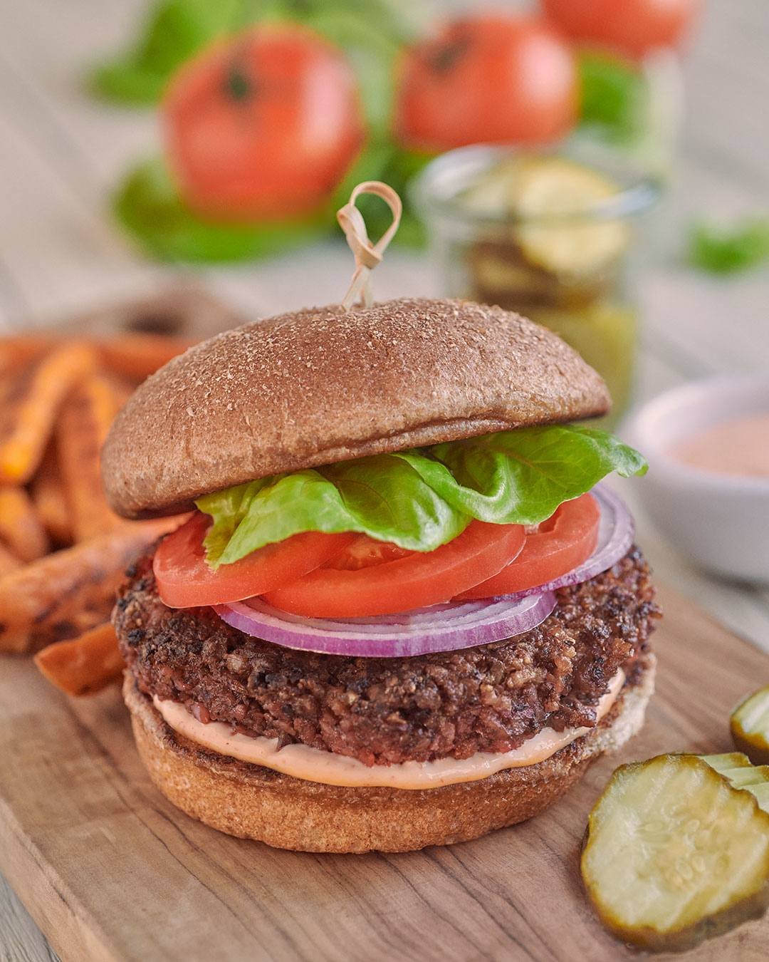 recipe image Homemade Impossible Burger