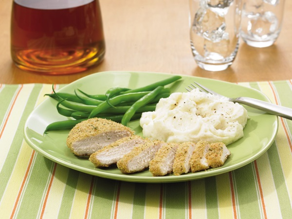 recipe image Breaded Baked Chicken