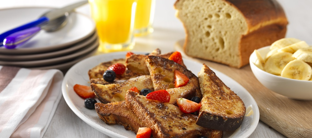Header Breakfast Country Crock French Toast